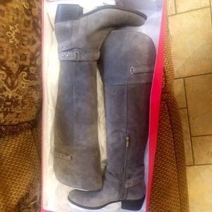 New Vince Camuto Suede over the knee boots